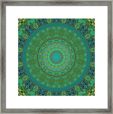 Aqua House 5  Framed Print
