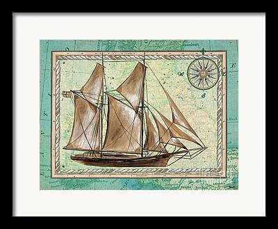 Tall Ships Paintings Framed Prints