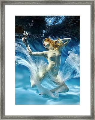 Aqua-theatre Framed Print