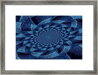 Aqua Tint Memories Framed Print by Chris Berry