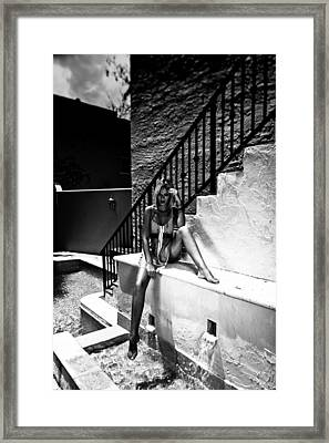 Aqua Vitae Framed Print