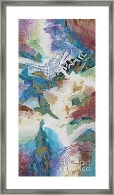 Aquacade Framed Print by Deborah Ronglien