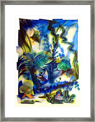 Aquarium Archived Work  Framed Print by Charlie Spear