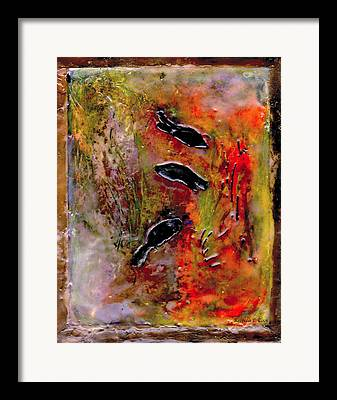 Under Water. Nature Mixed Media Framed Prints