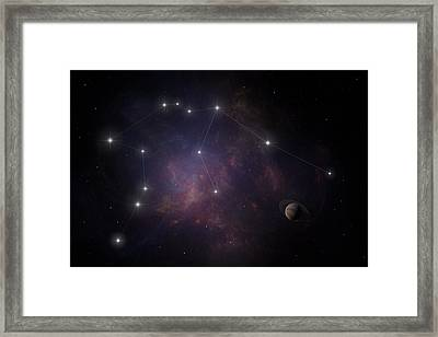 Aquarius Framed Print by Ian Merton