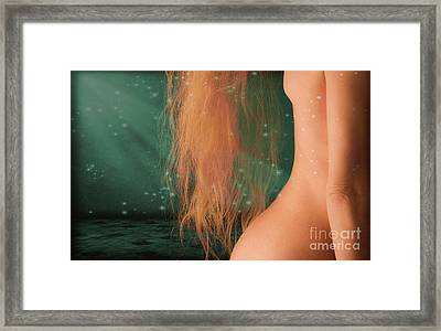 Aquarius... Framed Print by Nina Stavlund