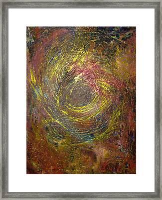 Aquarius Super Moon Framed Print by Karen Lillard