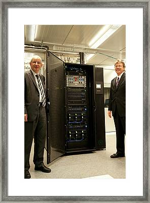 Aquasar Supercomputer Framed Print