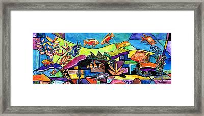 Aquascape #1 Framed Print
