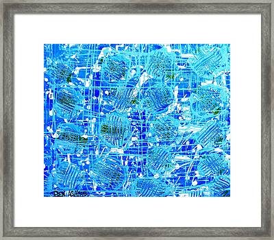 Aquatica Framed Print by Ben Asayag