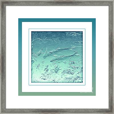 Aquatica Framed Print by Kaye Menner