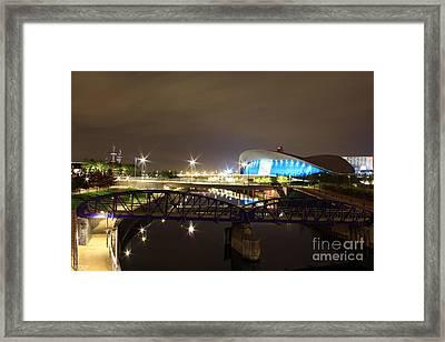 Aquatics Center Framed Print by Size X