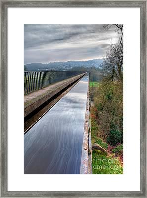 Aqueduct Framed Print by Adrian Evans