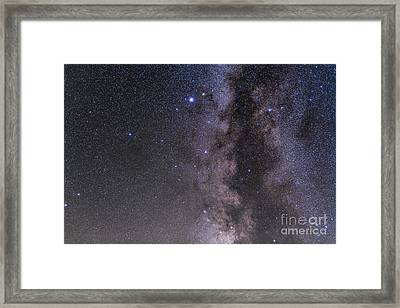 Aquila Constellation Framed Print by Alan Dyer