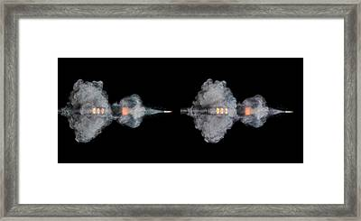 Ar-15 Rifle Shot Framed Print