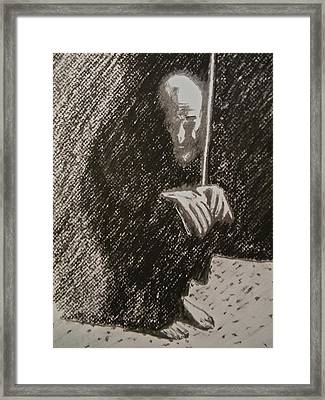 Arab Despair Three -  Despondent Framed Print