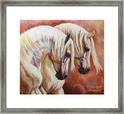 Arab Horses Framed Print