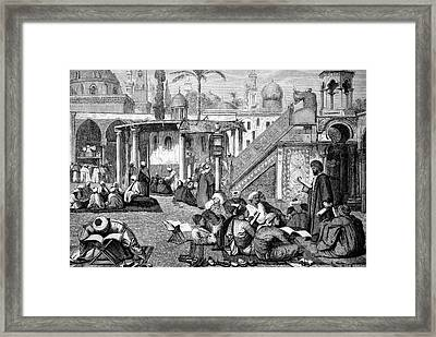 Arab University Of Cairo Framed Print