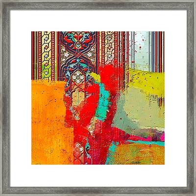 Arabesque 32 Framed Print by Shah Nawaz