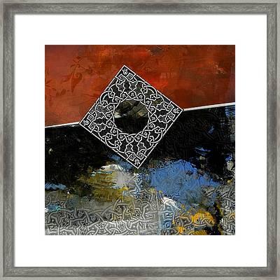Arabesque 4c Framed Print by Shah Nawaz