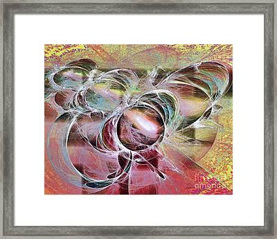 Arabesque Design Framed Print by Leona Arsenault