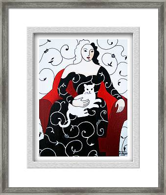 Arabesque Framed Print by Eve Riser Roberts