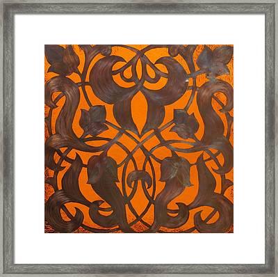 Arabesque Window Passage Framed Print