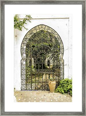 Arabian Door Framed Print