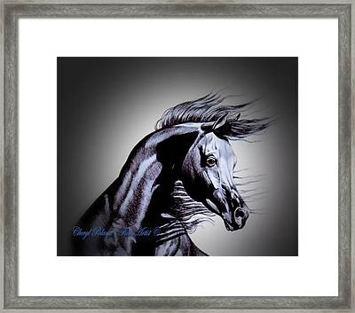 Arabian Motivation Framed Print