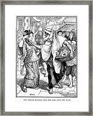 Arabian Nights, 1898 Framed Print by Granger