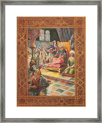 Arabian Nights H J Sandham Framed Print by Paul Ashby Antique Paintings