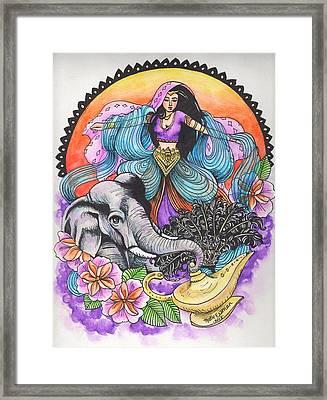 Arabian Nights Framed Print by Katie Essman