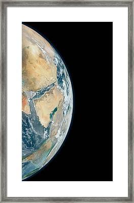 Arabian Peninsula Framed Print by Nasa
