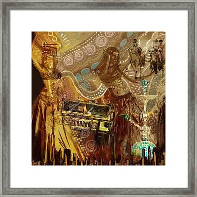 Arabian Symbolism Framed Print by Corporate Art Task Force