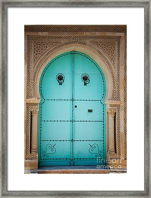 Arabic Door Framed Print by Mythja  Photography