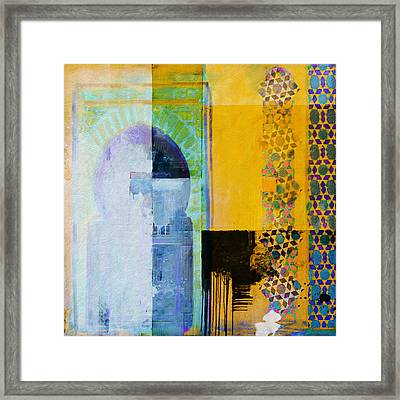 Arabic Motifs 10b Framed Print by Corporate Art Task Force