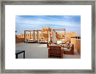 Arabic Style Framed Print by Rostislav Bychkov