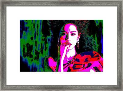 Aradhana Punyavarman Istri Devi Kaushalya Framed Print by Ricky Nathaniel