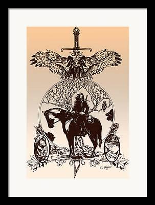 Boromir Framed Prints