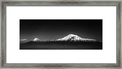 Ararat Mountain Framed Print by Hayk Shalunts