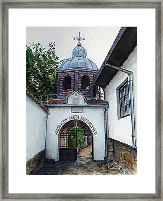 Arbanasi Monastery St. Mother Of God Bulgaria Framed Print by Henrieta Maneva