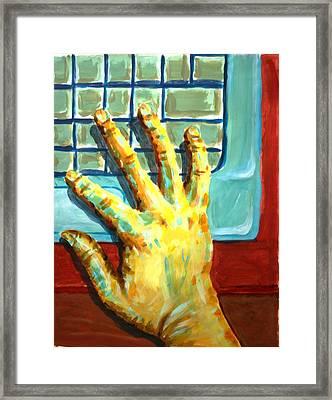 Arbitrary Colors Framed Print