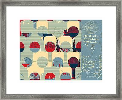 Arbrabstract - 08a Framed Print