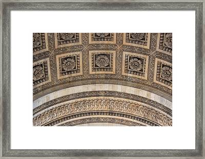 Framed Print featuring the photograph Arc Abstract by Glenn DiPaola