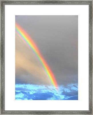 Framed Print featuring the photograph Arc Angle One by Lanita Williams