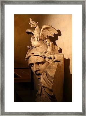Arc De Triomphe - Paris France - 01135 Framed Print by DC Photographer