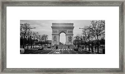 Arc De Triomphe Framed Print by Steven  Taylor
