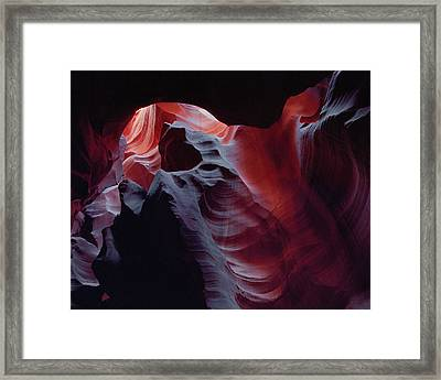 Arc Light Framed Print