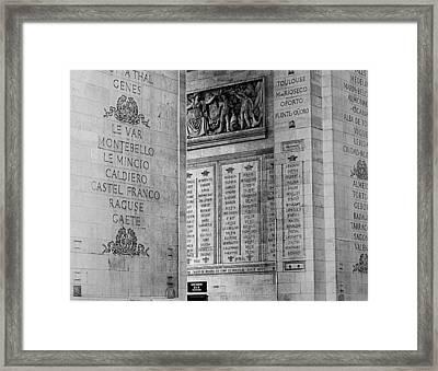 Arc02 Framed Print
