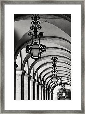 Arcade 1 Framed Print by Rod McLean